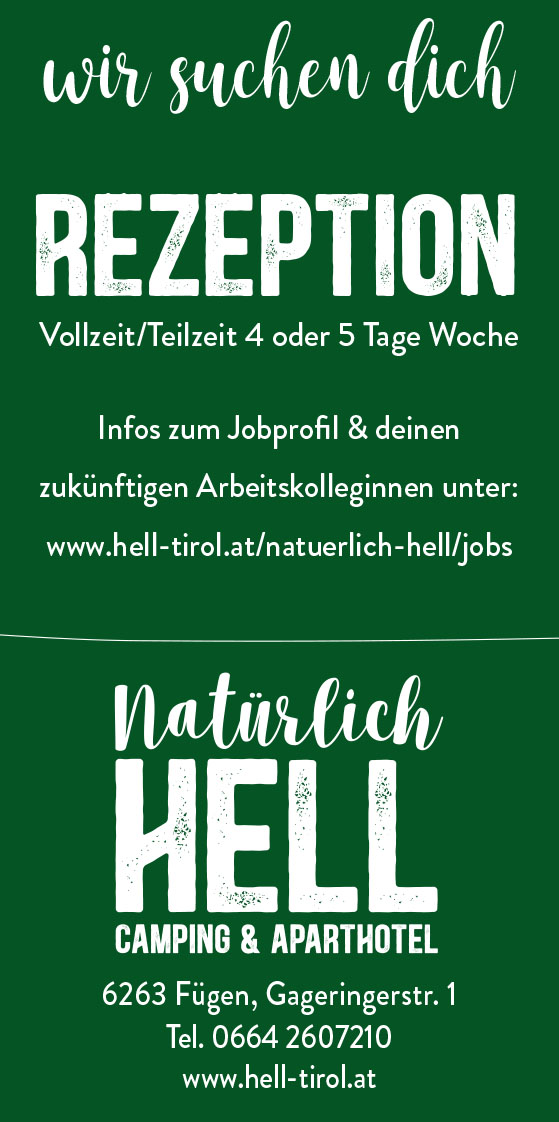 Hell Camping Aparthotel Job